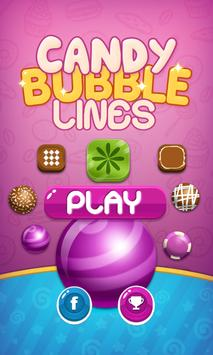 Candy Bubble Lines poster