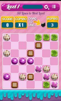 Candy Bubble Lines apk screenshot