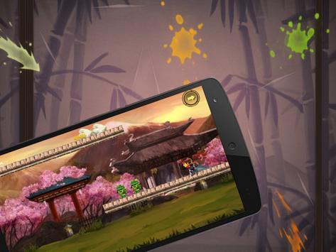 Ninja Go Kid Run-Adventure gam apk screenshot