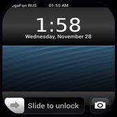 OS10 Launcher Theme Lockscreen icon