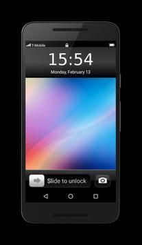OS10 Launcher Theme Lockscreen poster