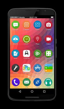 OS10 Launcher Theme Lockscreen apk screenshot