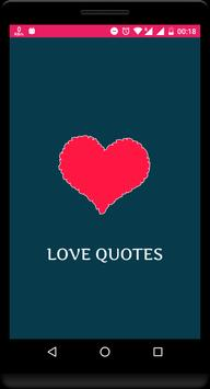 Love Quotes poster