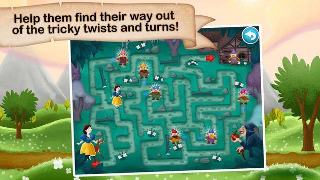 Fairytale Maze 123 for Kids screenshot 1
