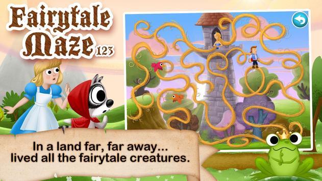 Fairytale Maze 123 for Kids screenshot 5