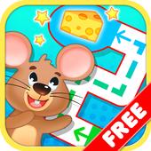 Toddler Maze 123 for Kids Free icon