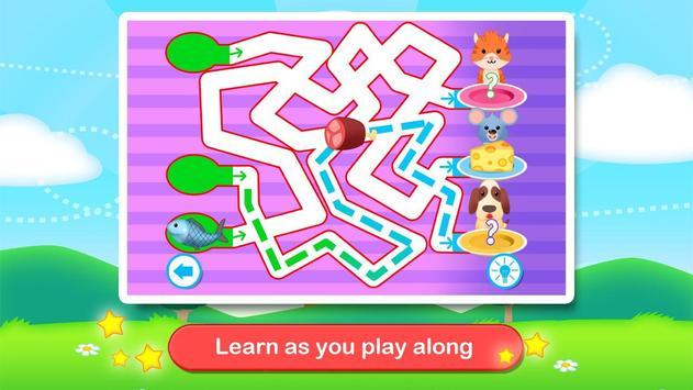 Toddler Maze 123 for Kids Free screenshot 12