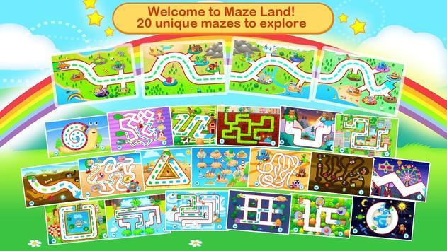 Toddler Maze 123 for Kids Free screenshot 8