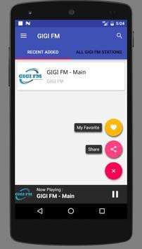GIGI FM screenshot 3