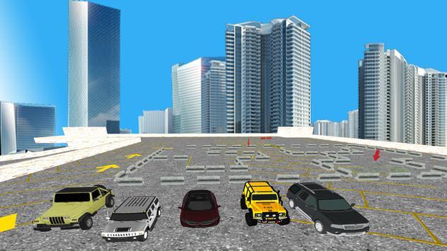 Jeep Drive Parking Simulator apk screenshot
