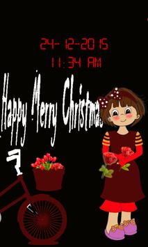 Christmas Lock Screen poster