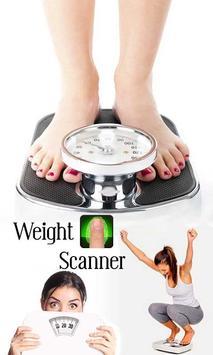 Weight Machine Finger Scanner Prank poster