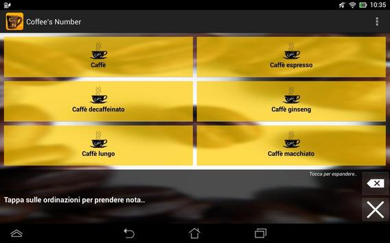 Coffee's Number apk screenshot