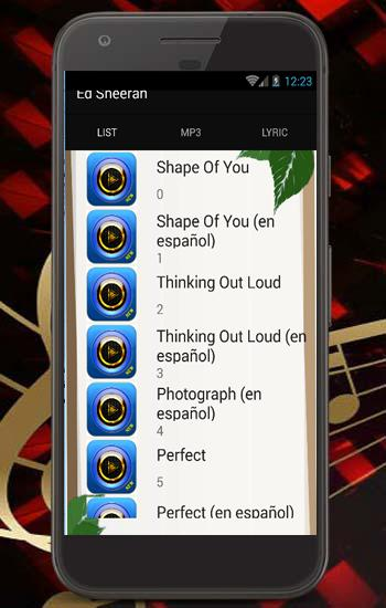 Ed Sheeran Shape Of You Top Song And Lyric For Android Apk Download