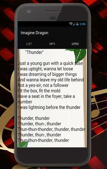 Roblox Songs Thunder Imagine Dragon Thunder Top Song And Lyric For Android Apk Download