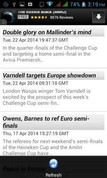 Rugby Breaking News apk screenshot