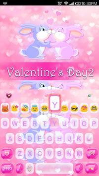 Valentine's Day Emoji Keyboard apk screenshot