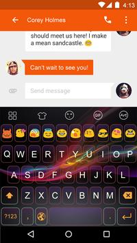 Z4-Emoji Keyboard apk screenshot