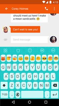 Emoji Keyboard-Lovely Adorable screenshot 4