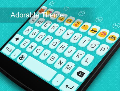 Emoji Keyboard-Lovely Adorable screenshot 5