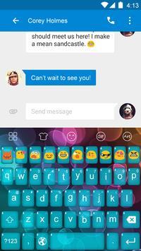 Emoji Keyboard-Bubble apk screenshot