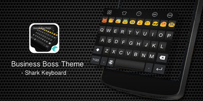 Emoji Keyboard-Business Boss poster