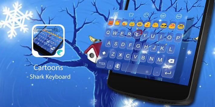Emoji Keyboard-Cartoons poster