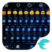 Emoji Keyboard-Circuit icon
