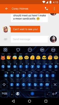 Emoji Keyboard-Circuit apk screenshot