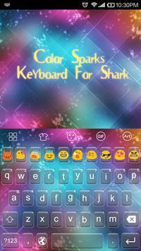 Emoji Keyboard-Color Sparks apk screenshot