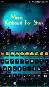 Emoji Keyboard-Moon Light apk screenshot