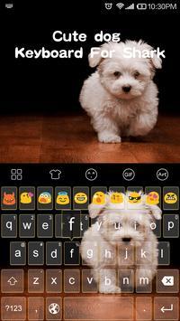 Emoji Keyboard-Cute Dog apk screenshot
