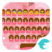 Emoji Keyboard-Cute Pink icon