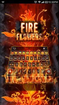 Flame-Emoji Keyboard apk screenshot