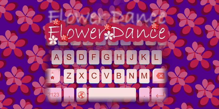 Flower Dance Gif Keyboard poster