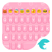Emoji Keyboard-Fun Pink Hearts icon