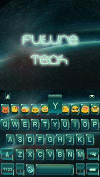 Future Tech Keyboard Emoji screenshot 2