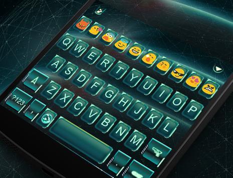 Future Tech Keyboard Emoji screenshot 4