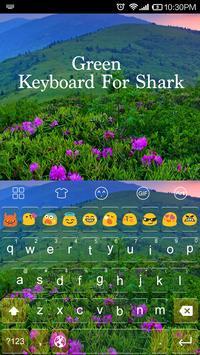 Emoji Keyboard-Green apk screenshot