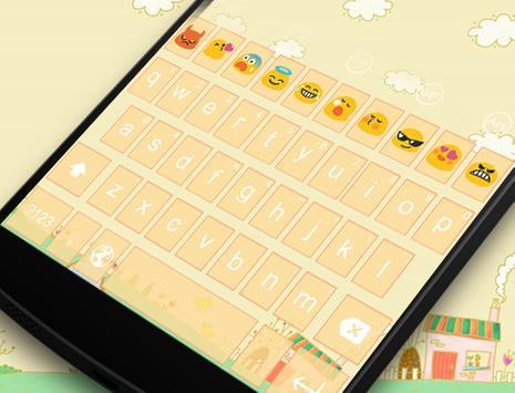 Emoji Keyboard-Lovely apk screenshot