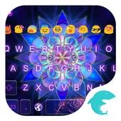 Emoji Keyboard-Magic Flower icon