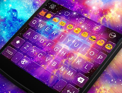 Emoji Keyboard-Magic Light apk screenshot