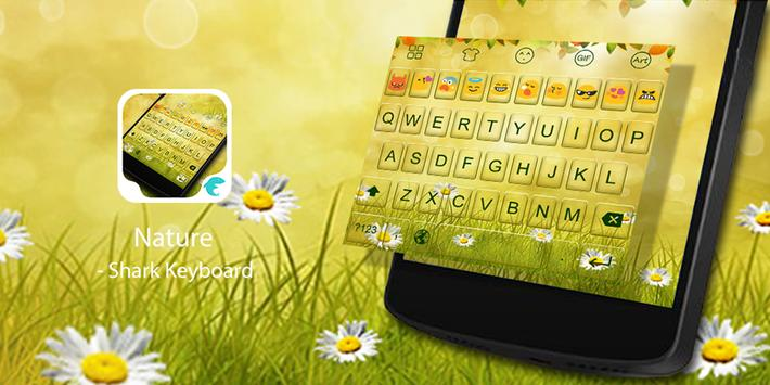Emoji Keyboard-Nature poster