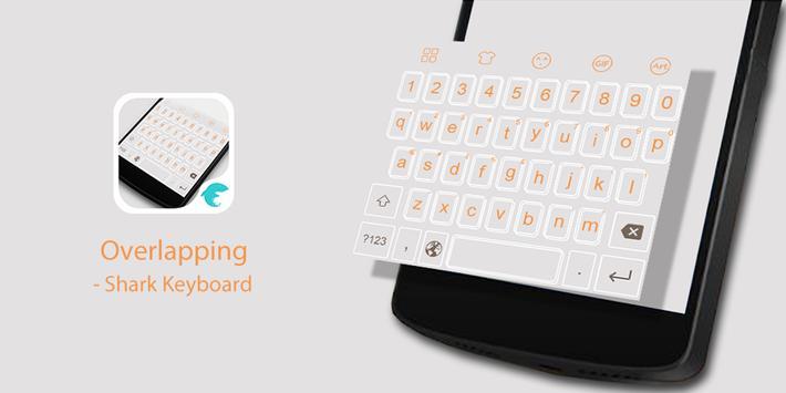 Emoji Keyboard-Overlapping poster
