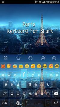 Emoji Keyboard-Paris City apk screenshot