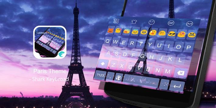 Emoji Keyboard-Paris poster