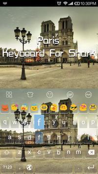 Emoji Keyboard-Paris apk screenshot