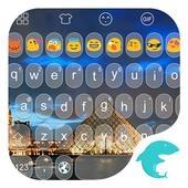 Emoji Keyboard-Paris Photo icon