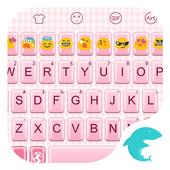 Emoji Keyboard-Pink Complex icon