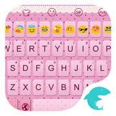 Emoji Keyboard-Pink Knot icon
